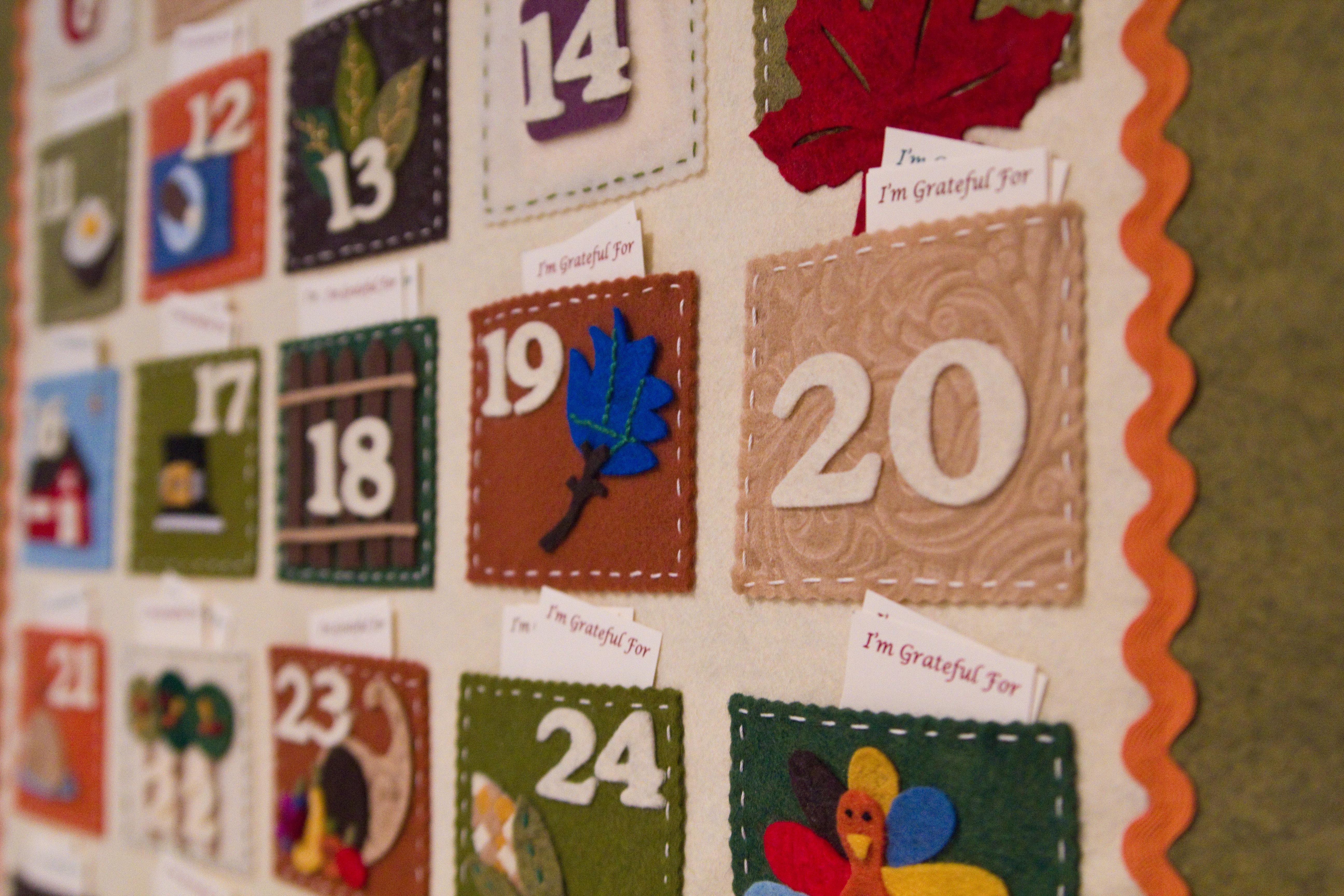Thanksgiving 2011 Calendar Pottery barn calendars,