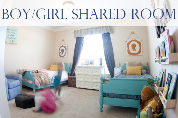 Shared Boy Girl Room Lynn Spin